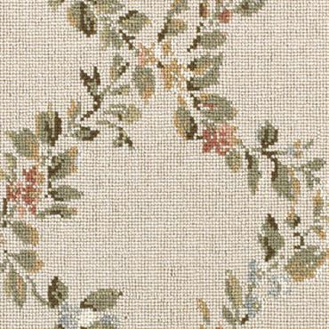 Rosenfeld Carpet Floral Trellis